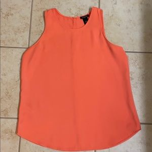 Salmon/orange tank from Ann Taylor